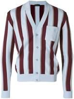 Prada striped cardigan