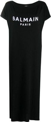 Balmain long T-shirt dress