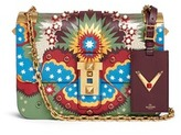 Valentino 'My Rockstud' Enchanted Wonderland print leather bag