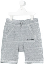DSQUARED2 lace-up detail track shorts - kids - Cotton/Rayon - 8 yrs