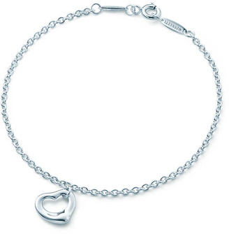Tiffany & Co. Elsa Peretti Open Heart bracelet in sterling silver, One size