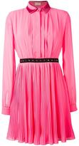 Giamba contrast waist shirt dress