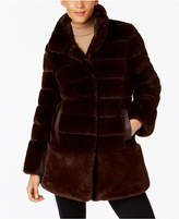 Jones New York Faux-Fur Coat