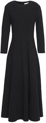 CASASOLA Ribbed Stretch-knit Maxi Dress