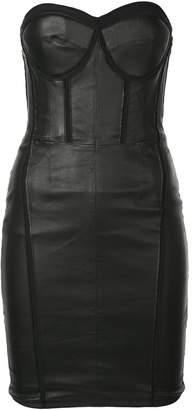 RtA Gwenyth strapless corset dress