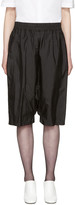 Jil Sander Black Dropped Shorts