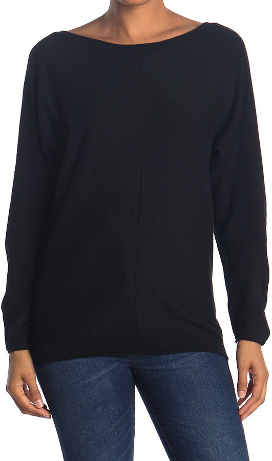 Cyrus Boatneck Dolman Pullover Sweater