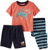 Osh Kosh Toddler Boy Graphic 3-Piece Pajama Set