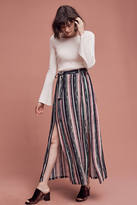 Blank Cinched Stripe Maxi Skirt