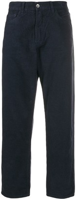 YMC Tapered Textured Trousers