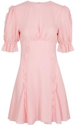 Keepsake Beloved ruffle-trimmed chiffon mini dress