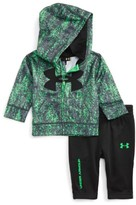 Under Armour Infant Boy's Big Logo Zip Hoodie & Sweatpants Set