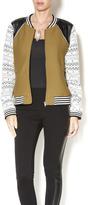 Greylin Knit Bomber Jacket