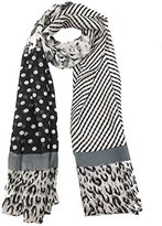 ABC Elegant Fashion Chiffon Print scarf Lightweight And Soft for Summer