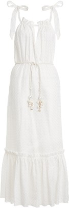 Zimmermann Zinnia Tie Shoulder Dress