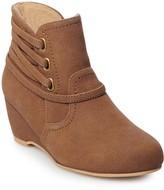 Rachel Anita Girls' Ankle Wedge Boots