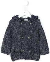 Il Gufo hooded cardigan - kids - Cotton/Acrylic/Polyamide/Wool - 36 mth