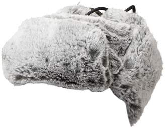 Nobis Fully Satin-Lined Faux Fur Trapper Hat