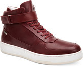 Calvin Klein Men's Navin Fashion Athletic Leather High-Top Sneakers