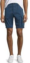 Michael Kors Cotton-Twill Cargo Shorts, Navy