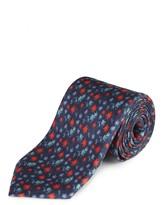 Jaeger Silk Floral Print Tie