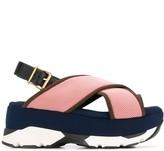 Marni Wedge buckled sandals