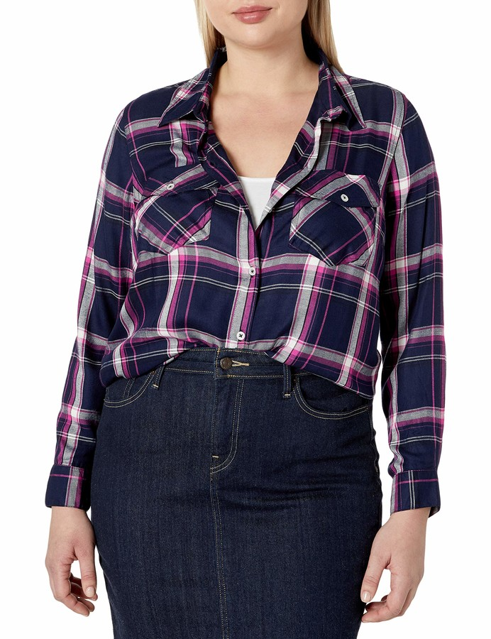 Thumbnail for your product : Jessica Simpson Women's Petunia Button Down Shirt