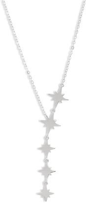 Sterling Forever Multi Star Y-Necklace