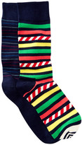 Happy Socks Striped Crew Socks - Pack of 2