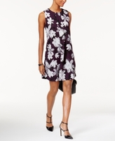 Alfani Petite Printed Pleated-Front Dress, Created for Macy's