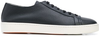 Santoni Cleanic low-top leather sneakers