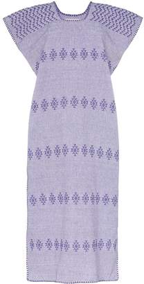 Pippa Holt embroidered kaftan midi-dress