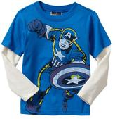 Gap Junk Food™ 2-in-1 superhero graphic T