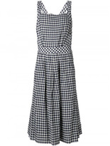 Sea gingham apron dress