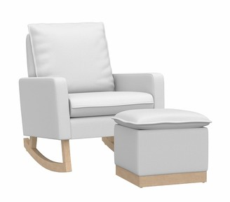 Pottery Barn Kids Paxton Rocking Chair & Ottoman