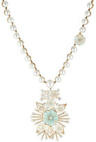 Irene Neuwirth Diamond Collection Women's Mixed-Gemstone & Pearl Pendant Necklace