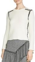 Maje Meltin Stitched Sweater