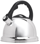 Primula 3QT. Safe-T Stainless Steel Whistling Kettle