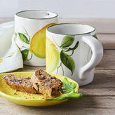 Sur La Table Hand-Painted Lemon Coffee Mug