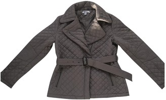 DKNY Green Coat for Women