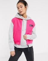 Tommy Jeans fleece neon vest with logo