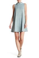 Bobeau Sleeveless Cowl Neck Dress