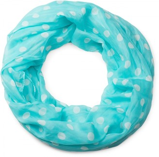 styleBREAKER dotted tube scarf soft and silky cloth women 01016111