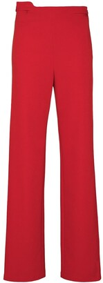 Commission High-Waist Straight-Leg Trousers