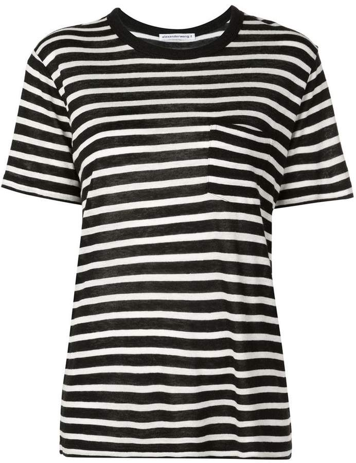 95be3087ea2a Horizontal Striped Shirt Black And White - ShopStyle