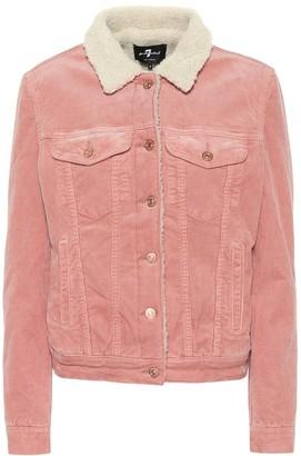 Modern Trucker corduroy jacket