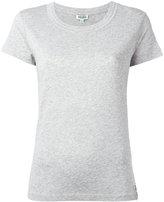 Kenzo ribbed round neck T-shirt - women - Cotton/Modal - M
