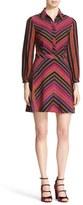 Diane von Furstenberg Women's Chevron Dress