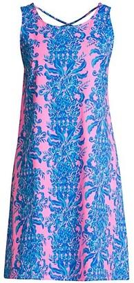 Lilly Pulitzer Kristen Crisscross Back Swing Dress