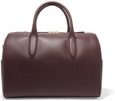 Anya Hindmarch Vere Barrel Leather Tote - Burgundy